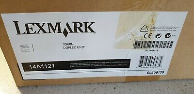 Genuine Lexmark 14A1121 Duplex Unit for X560 New Never Used Open Box See Photos
