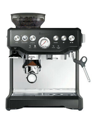 Breville The Barista Express Coffee Machine: Black Sesame BES870BKS