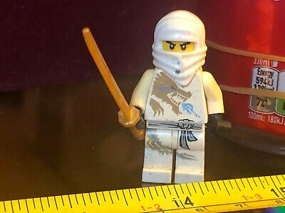 NINJAGO WARRIOR WHITE NINJA Lego Man Mini Figure Official Toy Minifigure