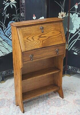 Antique Students Bureaux Desk Oak - Delivery Available