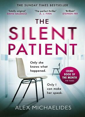 The Silent Patient by Alex Michaelides NEW Paperback Book 2019