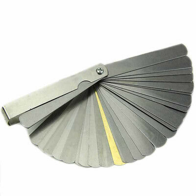 32 Blade Feeler Gauge Dual Marked Metric Imperial Gap Measuring Tool 0.04-0.88mm