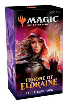ENGLISH Magic the Gathering Throne of Eldraine Prerelease Kit SEALED IN-HAND!!