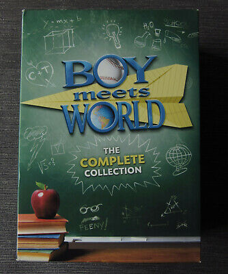 Boy Meets World: The Complete Collection (DVD, 2013, 22-Disc Set) GENUINE