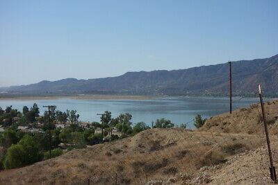 Lake Elsinore - Empty Lot with Lake and Town views