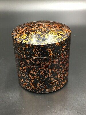 Japanese Lacquer Tea CADDY Container / Tea Container.