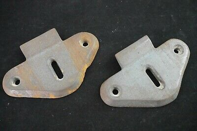 Antique Vintage Cast Iron Wall Sink Hanger Mounting Brackets Pair