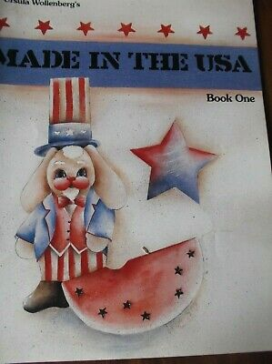 Vintage Decorative Painting Patterns Patriotic Made In The Usa Book One