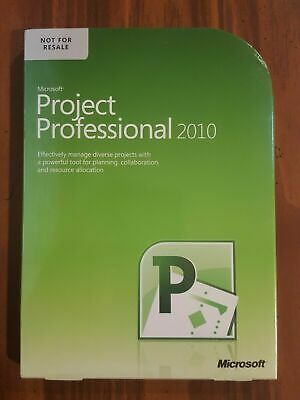 NEW GENUINE Microsoft Office Professional 2010 for 2 PCs SEALED BOX