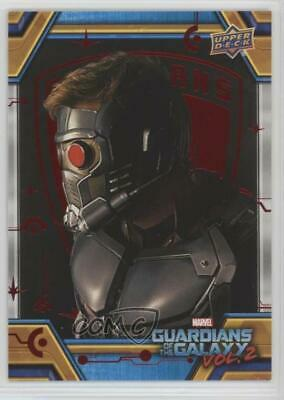 2017 Upper Deck Guardians of the Galaxy Volume 2 Red 28/49 Surface Tendrils 0ad