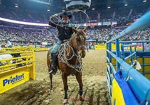 2019 National Finals Rodeo Single Tickets:  Thursday Dec 12Th Performance # 8