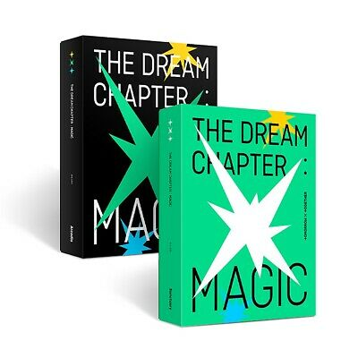 TOMORROW X TOGETHER TXT - THE DREAM CHAPTER : MAGIC CD+Poster+Free Gift