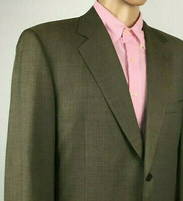 CANALI Mens Italian Wool Grey 2 Button Blazer Jacket AL 13220/32 Size 46L (US)