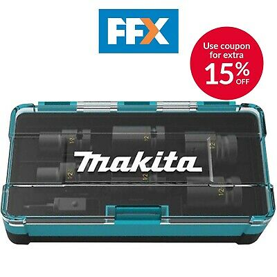 Makita B-69733 1/2in Square Drive Socket Set 7pc