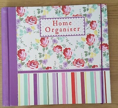 Home organiser Paperchase  Kath Kidston design. Notes, address etc with pockets