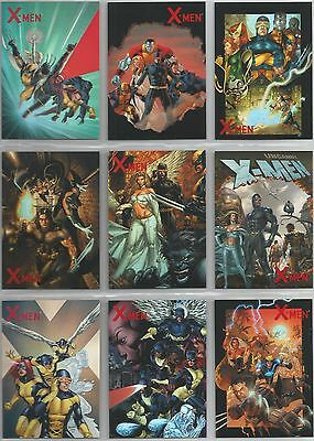 """X-Men Archives - """"Ready-For-Action Cover Gallery"""" Set of 9 Chase Cards #CA1-9"""