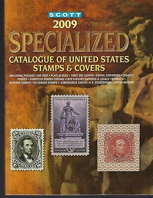 2009 Scott Specialized Catalogue of United States Stamps and Covers - in Color!