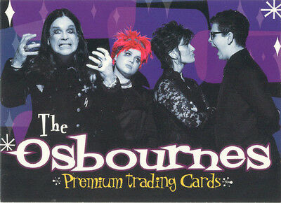 The Osbournes Family Portrait Chase Card FP8