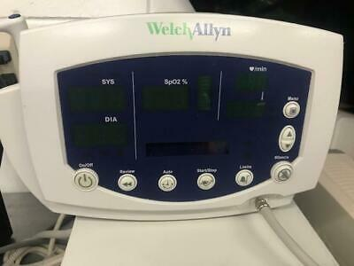 Welch Allyn Spot Vital Signs Monitor with temp, blood pressure and spo2 adapter