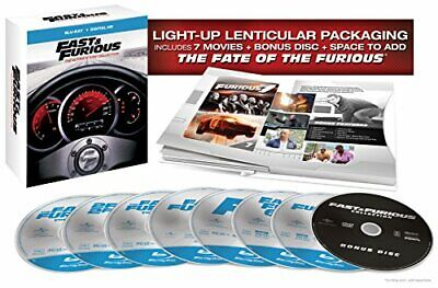 Fast & Furious-Ultimate Ride Collection (Blu Ray) (8Discs)