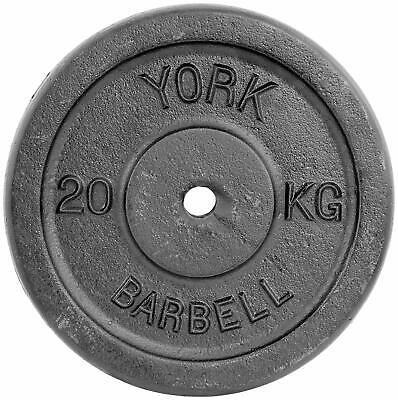 Single Cast Iron Weight Plate Home Gym Equipment For Fitness Weight Lifting 20kg