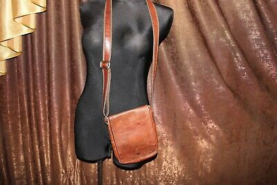 Made by John Lewis Leather men's bag Made in Italy (NLV)