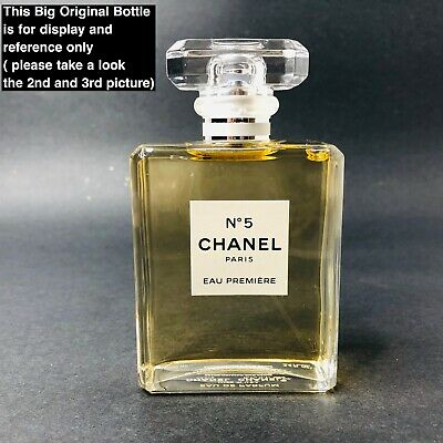CHANEL NO 5 EAU PREMIERE EDP 5ml Spray Samples 100% AUTHENTIC!