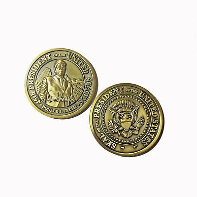 Donald J. Trump 45th President of the United States POTUS Challenge Coin