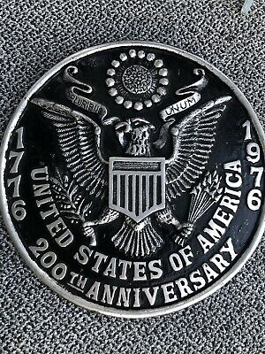 Amazing United States Of America 200 Year Anniversary Aluminum 17 Inch Seal