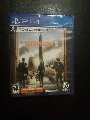 Tom Clancy's The Division 2 PS4 Playstation 4. Brand New. Free USA Shipping