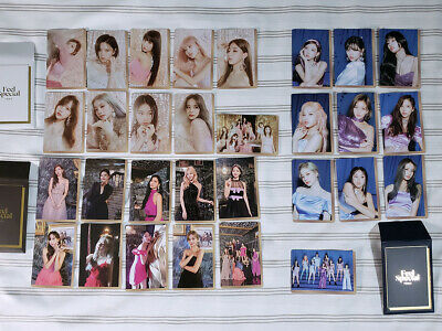 TWICE - FEEL SPECIAL - 8th Mini Album - Official Preorder Photocard Sets (30pcs)