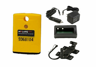 MyLaps AMB Yellow Kart (Karting) Classic Transponder Complete with Charger