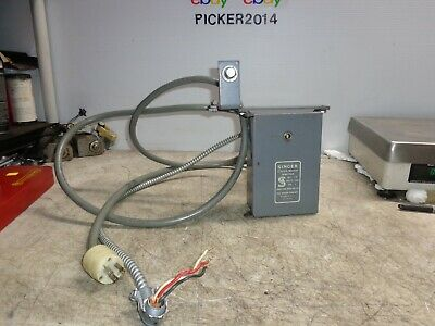 SINGER Industrial Sewing Machine Clutch Motor Switch 1/2HP W/ CORD & WIRING