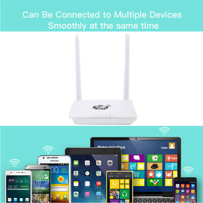 4G LTE 2.4GHz WiFi 300Mbps Strong Signal Home Wireless Router Support SIM Card