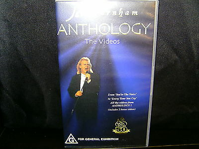 John Farnham Anthology 1 - The Videos - Vhs Video