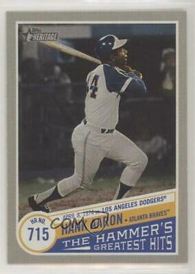 2019 Topps Heritage High Number The Hammer's Greatest Hits #THGH-1 Hank Aaron