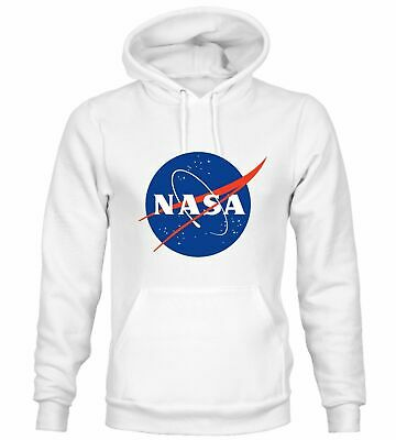 Felpa NASA CAPPUCCIO unisex uomo o donna Nasa inspired replica.