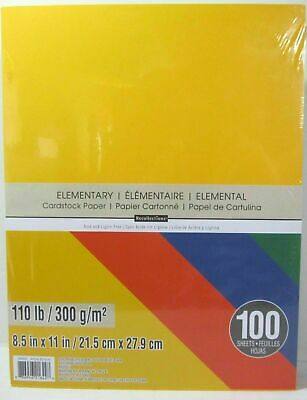 """Recollections Cardstock Paper 8 1/2"""" x 11"""" 110 lb HEAVYWEIGHT ELEMENTARY"""