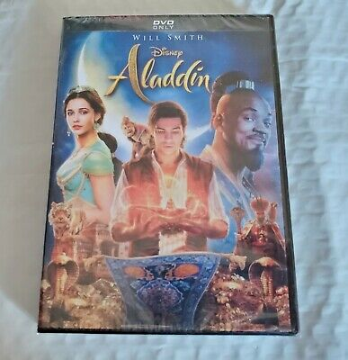 Aladdin Will Smith Movie (DVD, 2019) Brand New Free Shipping