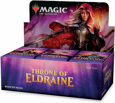 MTG Throne of Eldraine Booster Box - Factory Sealed- Free Priority Shipping!