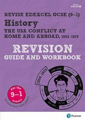 Revise Edexcel GCSE (9-1) History The USA Revision Guide and Workbook: (with fre