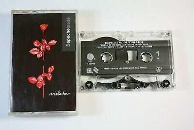 DEPECHE MODE Violator Cassette Tape Sire 26081-4