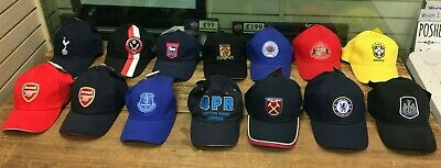 Official Football Club Baseball Caps Arsenal Tottenham Rangers West Ham Chelsea