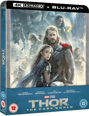 Thor 2: The Dark World (4K UHD / Blu-ray) Zavvi Steelbook W/ Protective Cover