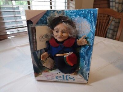 Elfs The Great Forest collection 6500 Grandma Maryss Doll Berenguer elf figure