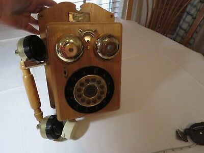 Spirit of St. Louis Austin vintage retro reproduction wall phone New York-PA