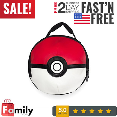 Licences POKE BALL POKEMON Lunch Bag Zipper New 2016