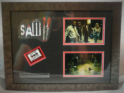 "Original Screen Used From The Movie Saw 2 2005 Autographed ""Play Me"" Tape w/ COA"