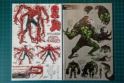 🔥🚨Absolute Carnage #3 & Miles Morales #1 - Young Guns Variant Set Lot - 🚨🔥