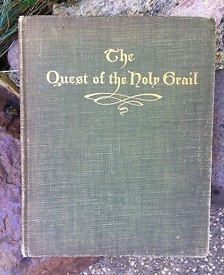 RARE! 1902 The Quest of the Holy Grail w/ Illustrations